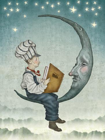 Lali en vos mots - Ecolier dans la lune ...