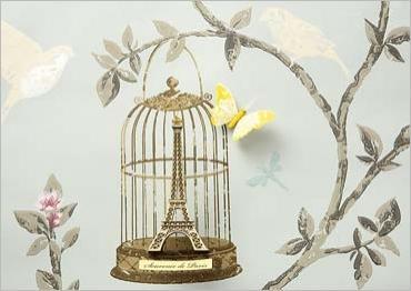 Cage Eiffel - Illustration de Camille Souleyrol et Louis Gaillard
