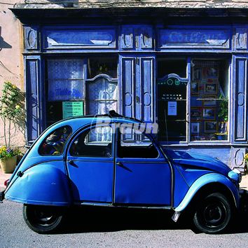 La 2 CV du coiffeur - photo de Julien Lautier