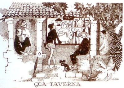 Mario de Miranda - Goa Taverna