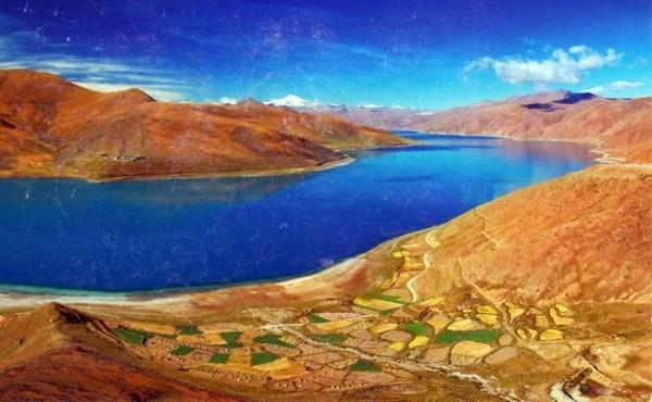 Lac Yamdrok (Tibet)