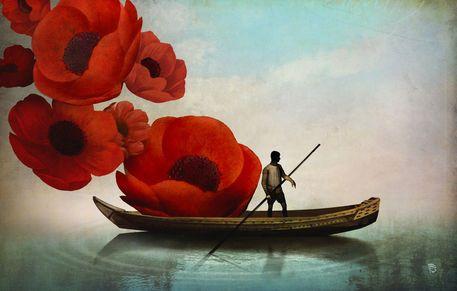 Christian Schloe - Red Flowers
