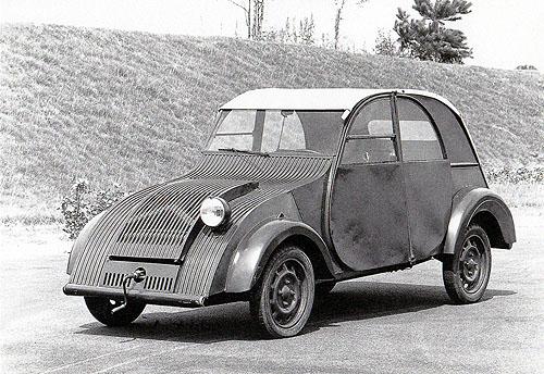 Citroën 2CV Prototype 1939