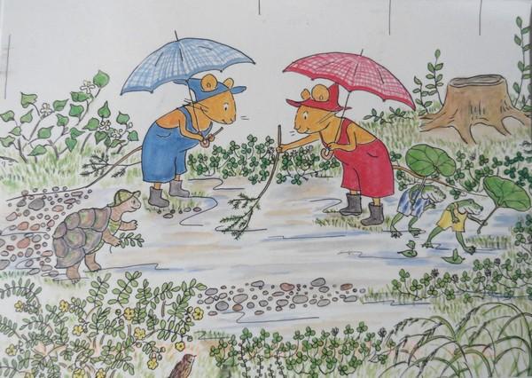 Guri et Gura - personnages de littérature pour enfants (Japon)