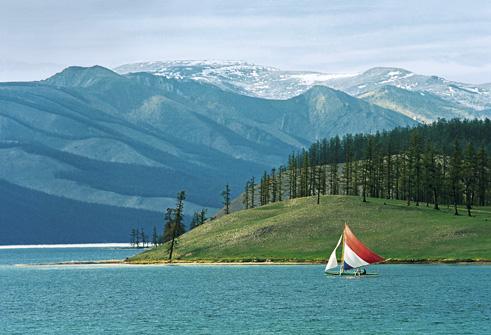 Lac Khovsgo, (Mongolie) - photo de Pavel Filatov