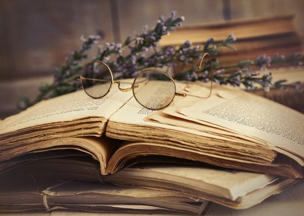 Les vieux livres - photo de Sandra Cunningham