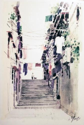 Shen Ping - Cobblestone Street