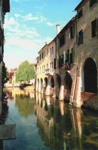 Il canale dei Buranelli - Treviso - photo de Ruggero Piccoli