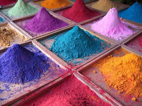 Indian Pigments - photo de Dan Brady