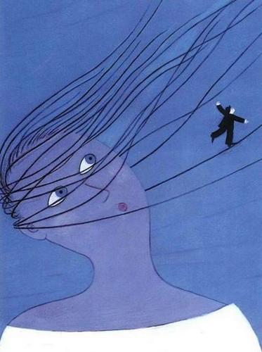 La marchande de vent - illustration de Joanna Boillat