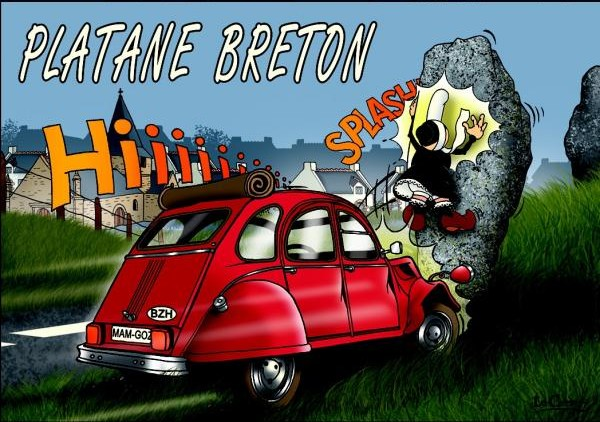 Platane breton - série Mam Goz