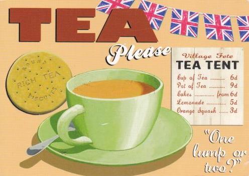 Tea Please - design de Martin Wiscombe (Retro Days)