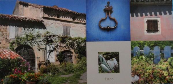 Cinq vues du Tarn - avec 2CV - photos de Jérôme Morel