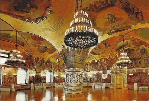 Intérieur du Palais des Facettes - Kremlin - Moscou