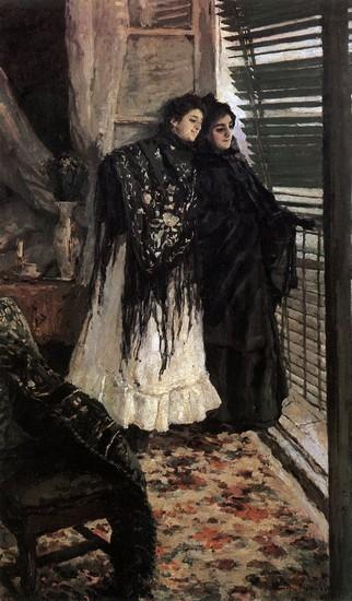 Konstantin Korovin - Sur le balcon