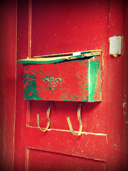 La boîte à lettres rouge, Montréal - photo de Caroline Fournier