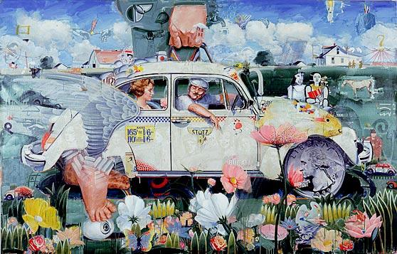 Big Bug - toile de Paul Giovanopoulos