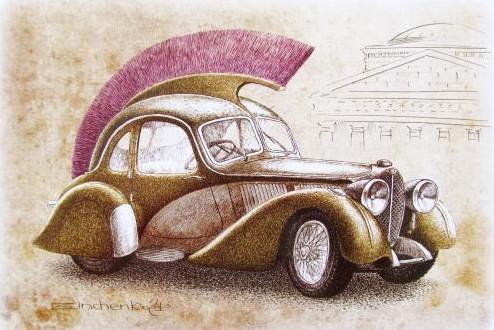 Illustraton de Viktor Zinchenko - série Autosmile