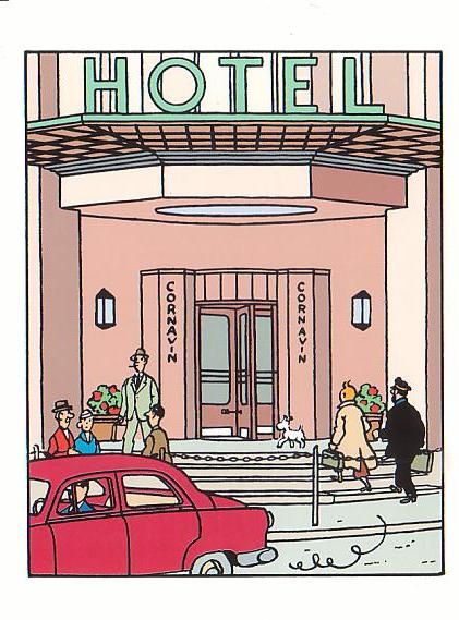 Tintin - Hôtel Cornavin