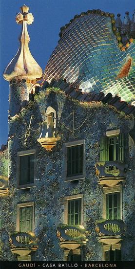 Casa Batlló (Antono Gaudi, architecte) - Barcelone - photo de Pere Vivas