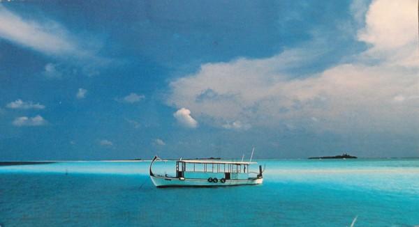 Le Dhöni (bateau de pêche traditionnell), Maldives - photo de Stéphane Francès