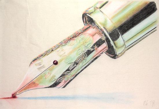 The Gondolier Started Singing - toile de Peter Brandt