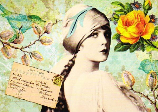 Beautiful Lady (Artichique Design)