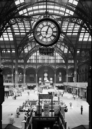 Penn Station, Manhattan - photo prise le 24 avril 1962