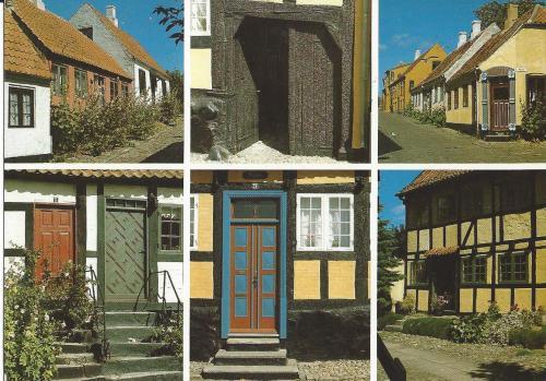 Portes et fenêtres - Ebeltoft (Danemark)