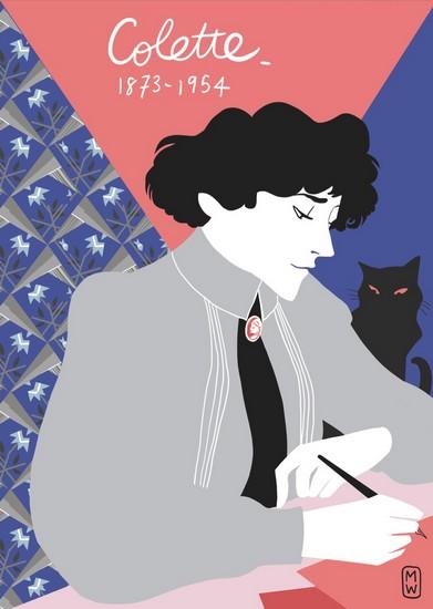 Colette - illustrationn de Diglee