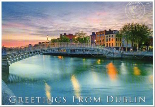 Hapenny Bridge - Dublin