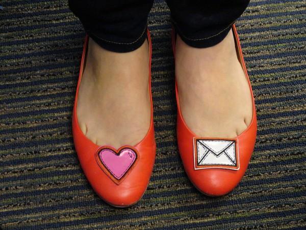 Les chaussures de Valentine
