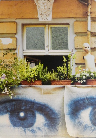 Balcon surréaliste, Berlin