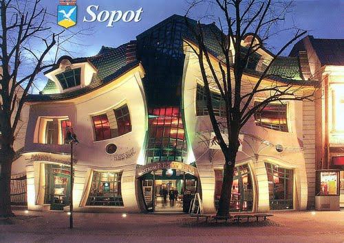 Maison tordue - Sopot