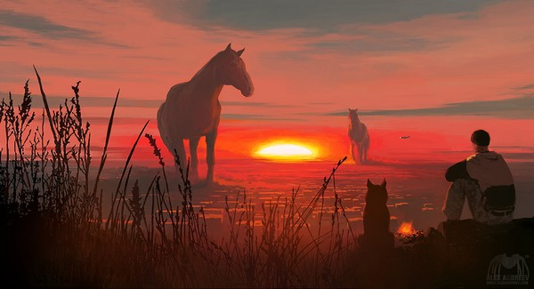 Alex Andreev - Red Horse