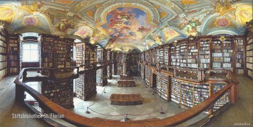 Bibliothèque de Saint-Florian (Autriche)