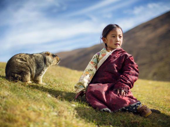 Enfant tibétaine