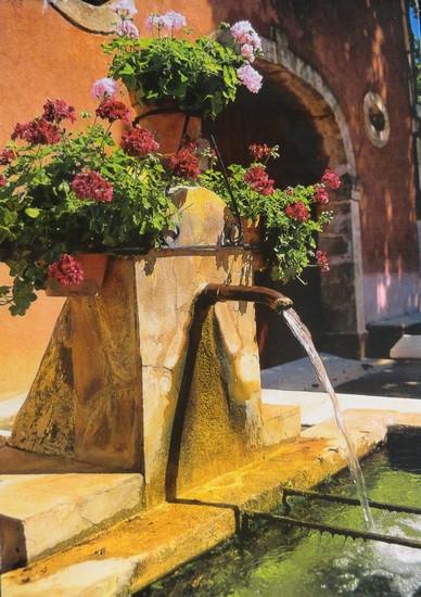 Fontaine du sud de la France