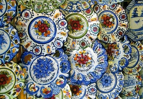 Assiettes de la région Aveiro (Portugal)