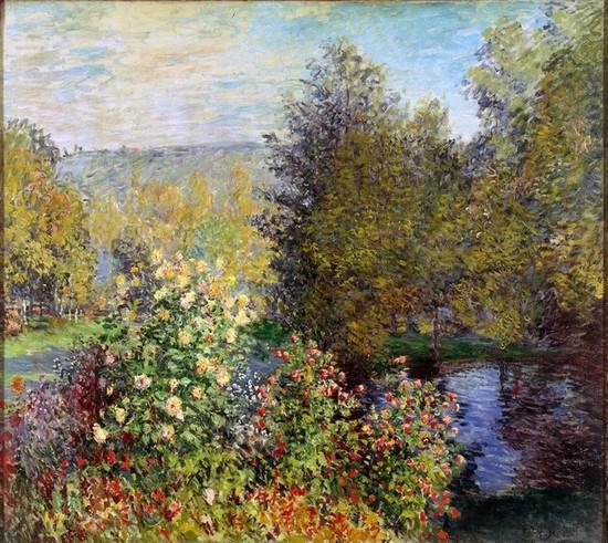 Coin-de-jardin-à-Montgeron-toile-de-Claude-Monet