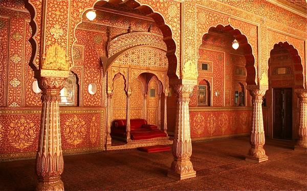 Anup Mahal, Junagarh Fort, Bikaner, Inde
