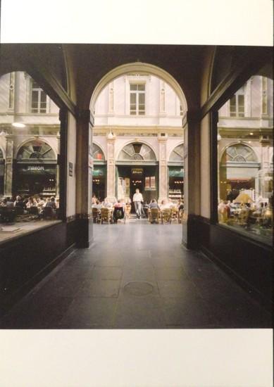 Galeries Saint-Hubert, Bruxelles - photo de Marie-Françoise Plissart
