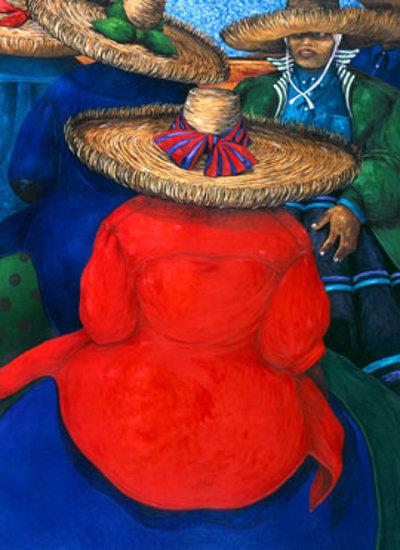 Harvest Gathering - toile de Jonathan Green