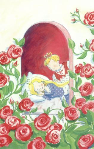 La belle au bois dormant  illustration de ~ Illustration La Belle Au Bois Dormant