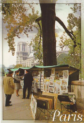 Bouquinistes des quais de la Seine