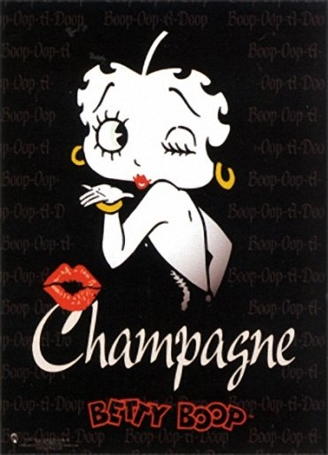 Champagne - Betty Boop