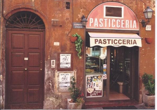 Pâtisserie, Rome - photo de Steven Habraken