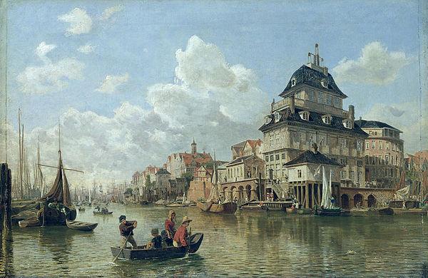 Baumhaus - toile de Valentin Ruths