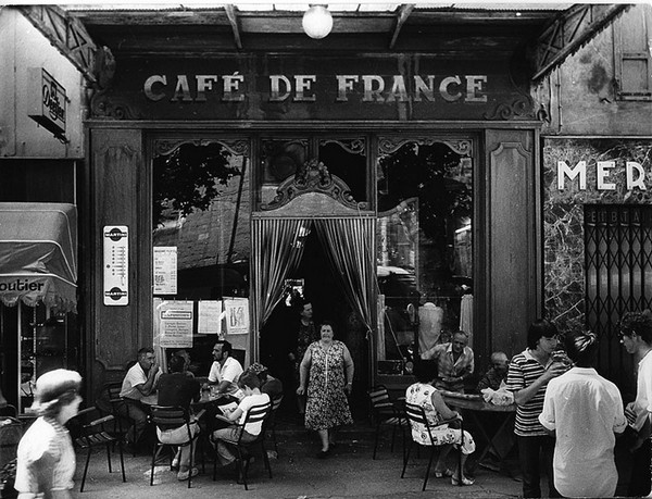 Café de France - photo de Willy Ronis