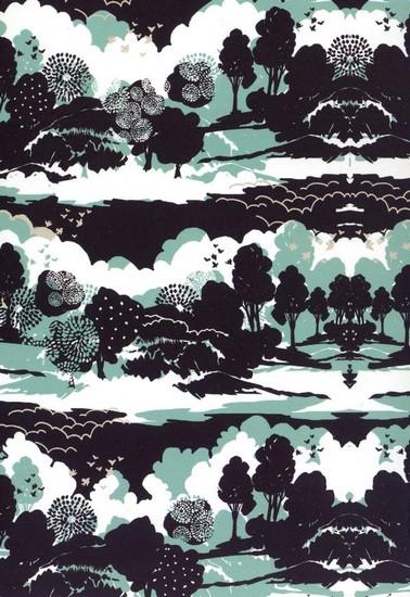 Graphic Landscape - motif dHelen Dealtry (2009)